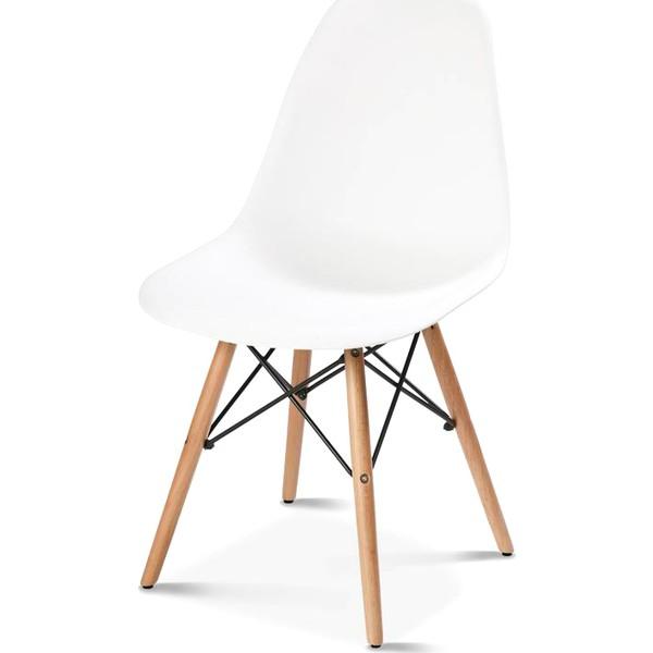 hepsiburada home beyaz eames sandalye