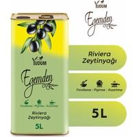 Yudum Egemden Riviera Zeytinyağı Teneke 5 LT