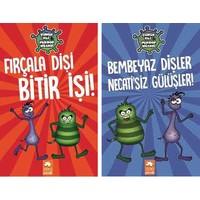 Çürük Ali & Mikrop Necati 2 Kitap Set - Fırçala Dişi Bitir Işi - Bembeyaz Dişler Necati'siz Gülüşler - Varol Yaşaroğlu