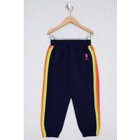 U.S. Polo Assn. Kız Çocuk Lacivert Örme Pantolon 50234821-VR033