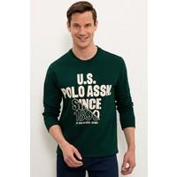 U.S. Polo Assn. Yeşil Sweatshirt 50234137-VR079