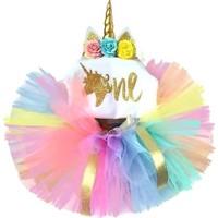 Bba New Trend 1 Yaş Doğum Günü Tütü Etek,1 Yaş Doğum Günü Kostüm