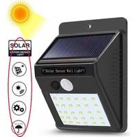 Buffer Güneş Enerjili Sensörlü 30 LED Dış Mekan Aydınlatma Ever Bright