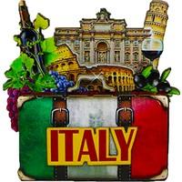 Vera Buzdolabı Magneti Avrupa Şehirleri Italya