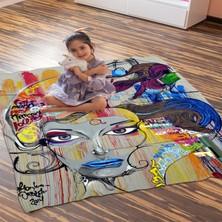 Kiparis Graffiti3 Desen Polar Battaniye Çocuk Battaniye