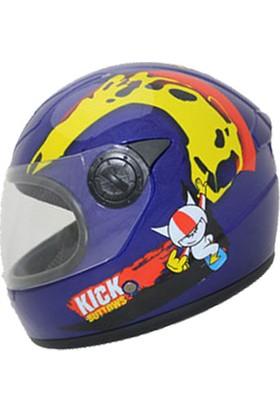 Vexo Çocuk Motosiklet Kaskı