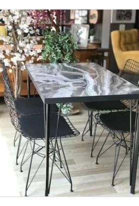 Abronya Metal Masa Ayağı Firkete Ayak Masa Ayağı Modelleri Yemek Masası Mutfak Masası Dresuar Ayak Modeli 80 cm 1 Adet