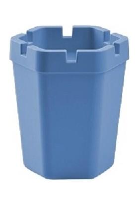 Pazarika Kokusuz Plastik Küllük Mavi