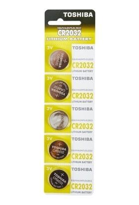 Toshiba CR2032 DL2032 ECR2032 Bios Pili Lithium 3.0 V Pil 5'li