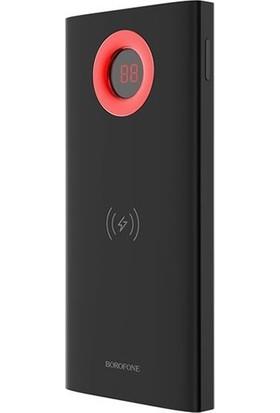 Borofone Bt-16 Siyah Kablosuz Powerbank - Taşınabilir Şarj