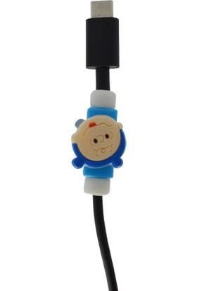 Genç Bilişim Bebek Desenli Kablo Koruyucu