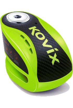 Kovıx Knx6-Fg Alarmlı Disk Kilit Yeşil