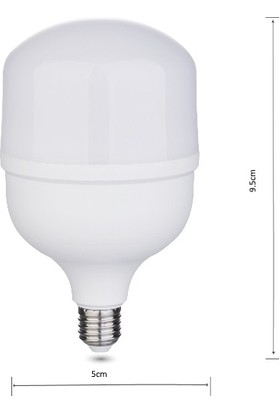 Ventus LED Ampul Torch 5W E27 8000K (Alt-85)