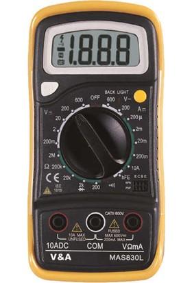 Marxlow MAS-830L Digital Multimetre