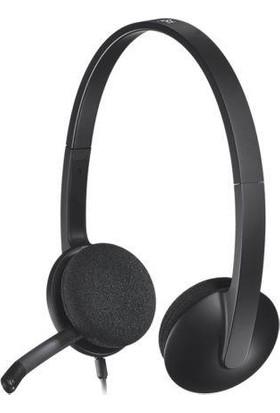 Logitech H340 USB Stereo Mikrofonlu Kulaküstü Kulaklık Siyah