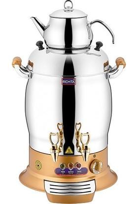 Remta Gold Magnum Çift Demlikli Çay Makinesi 23 Lt