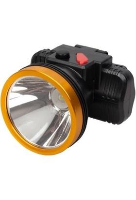 Silver Toss Şarjlı LED Kafa Feneri Lityum Pilli 10W+1LED ST628L
