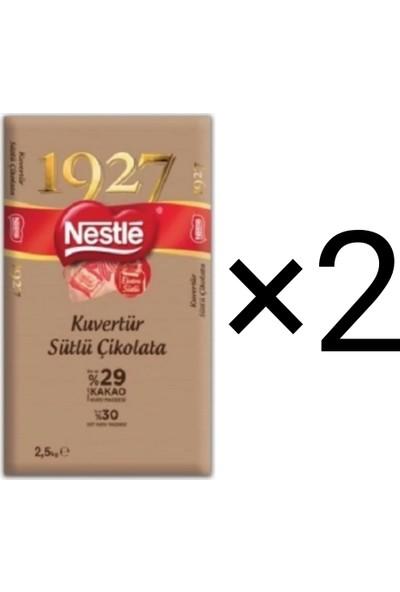 Nestle 1927 Sütlü Kuvertür 2,5 kg X2
