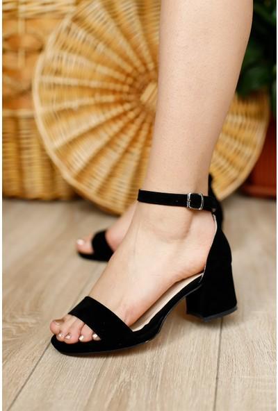 Dora Kadın Tek Bantlı Fındk Topuklu Ayakkabı