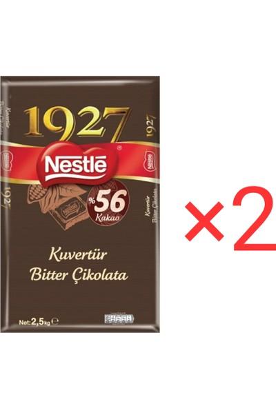 Nestle 1927 Bitter Kuvertür 2,5 kg X2