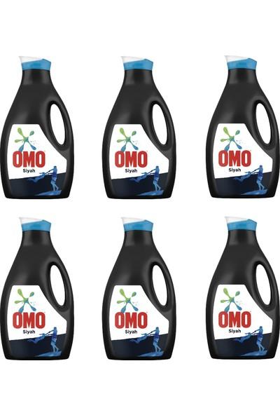 Omo Siyah Konsantre Sıvı Çamaşır Deterjanı 2470 ml x 6 (1 Koli)