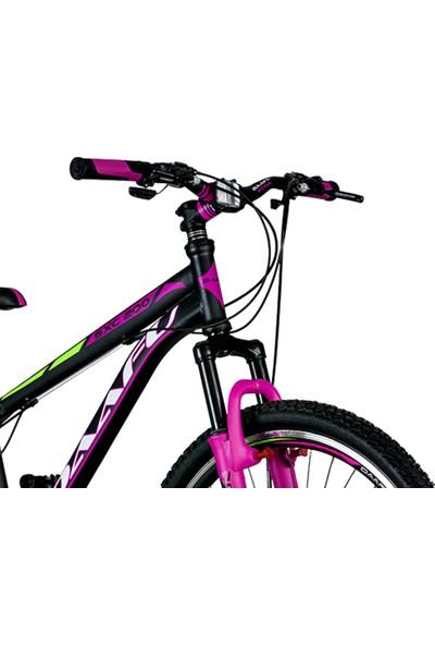 Daafu Sxc200 26 Jant Bisiklet Vitesli M-disk Tek Amortisörlü Kız Dağ Bisikleti Pembe-Standart