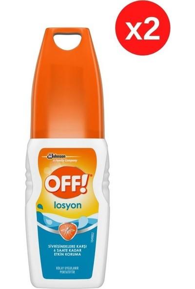 Off Off! Sinekkovar Losyon 100 ml X2 - Sivrisineklere Karşı