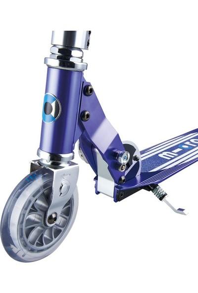 Micro Scooter Sprite Blue Stripe LED 2 Tekerlekli Scooter