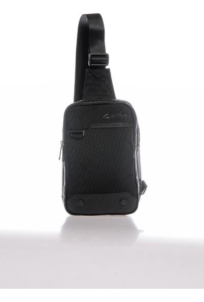 CTV8616-0001 Siyah Erkek Body Bag