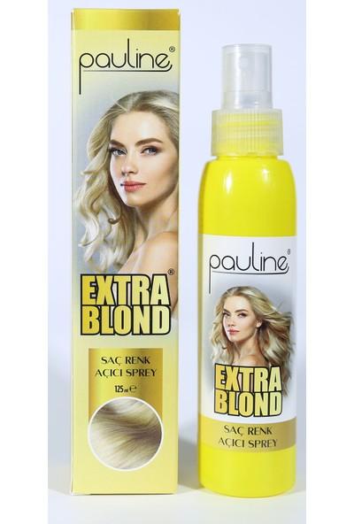 Pauline Extra Blond Doğal Saç Açıcı Sprey 125 ml