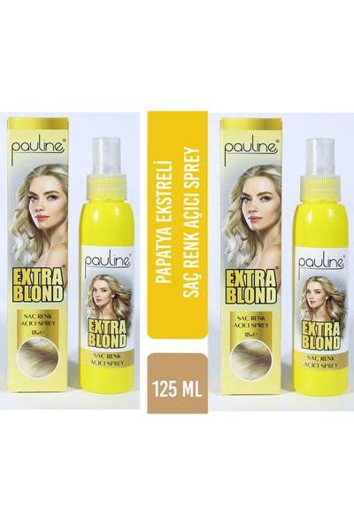 Pauline Extra Blond Doğal Saç Açıcı Sprey 125 ml - 2'li