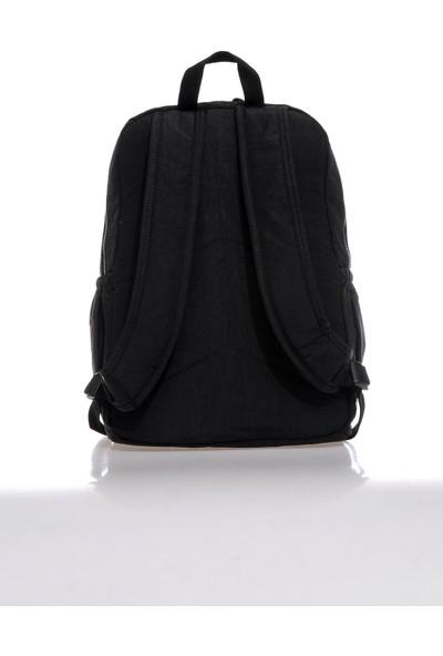 Smart Bags SMBK1218-0001 Siyah Kadın Sırt Çantası
