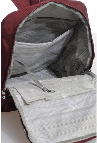 Smart Bags SMBK3084-0021 Bordo Kadın Sırt Çantası