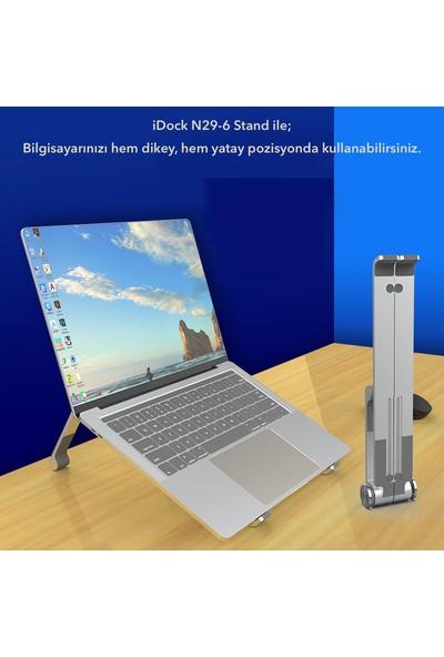 Idock N29-6 Katlanır Ayarlı Aluminyum Macbook Laptop Standı