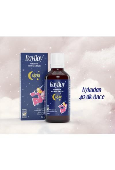 Baybay Night Melisa Içeren Takviye Edici Gıda 50 ml + Venatura Kids Vitamin D3 400 Iu 20 ml Da mla