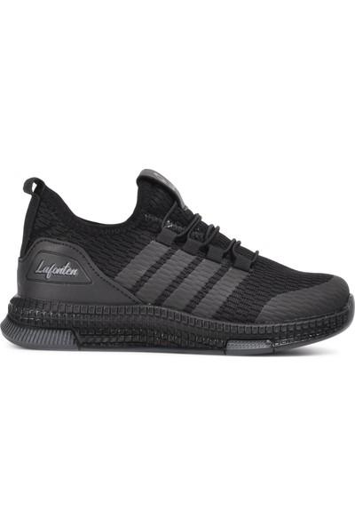 Lafonten 706 Siyah-Füme Çocuk Spor Ayakkabı