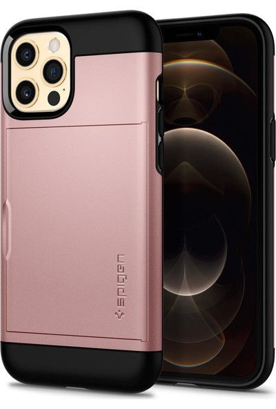 Spigen Apple iPhone 12 Pro Max Kılıf Slim Armor Cs Metal Slate - ACS02294