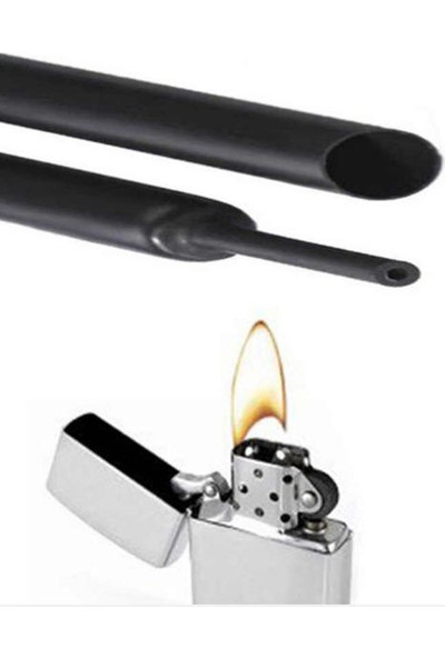 Woer Isı Ile Daralan Makaron Kablo Polyolefin Shrink Hortum 7mm 1 Metre