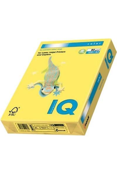 IQ Mondi Iq Renkli Kağıt A4 80 GR/500 Kanarya Sarısı