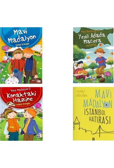 Mavi Madalyon Serisi 4 Kitap Set - Yılmaz Erdoğan