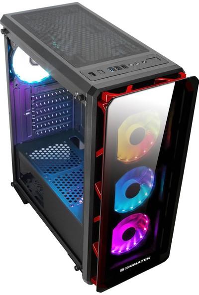 Xigmatek EN45228 Astro Rgb Fan Power 650W Oyuncu Kasası