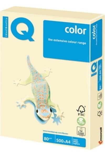 IQ Mondi Iq Renkli Kağıt A4 80 GR/500 Vanilya BE66