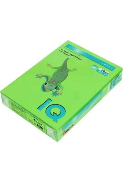 IQ Mondi Iq Renkli Kağıt A4 80 GR/500 Bahar Yeşili MA42