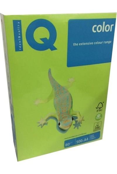 IQ Mondi Iq Renkli Kağıt A4 80 GR/500 Limon Yeşili LG46