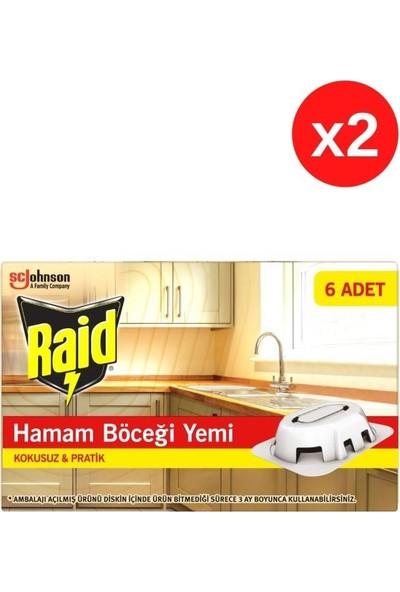 Raid Hamam Böceği Yemi - 12 Adet