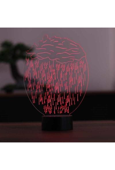 By-Lamp Yağmur Bulutu LED Masa Lambası
