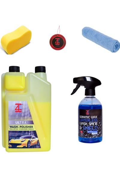4e Care Boya Koruyucu Cilalı Şampuan Seramik Wax