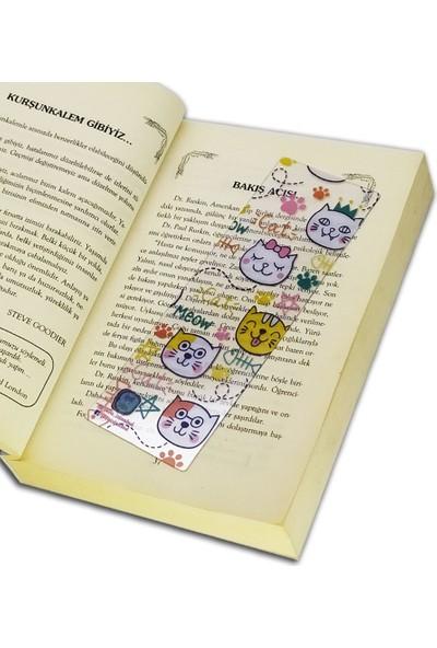 İstisna Şeffaf Desenli Kitap Ayracı Model 10