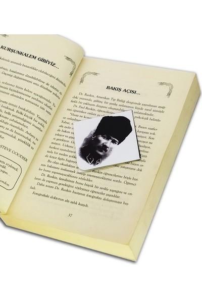 Istisna Atatürk Köşe Kitap Ayracı Model 4