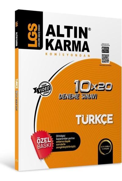 Altın Karma 8. Sınıf LGS Türkçe Deneme